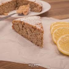 saftiger low carb zitronenkuchen mit 5 zutaten
