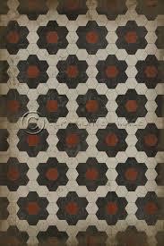 Patterned Linoleum Tile Floor Crafthubs