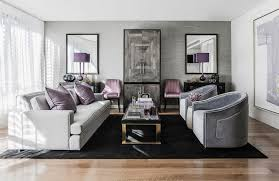 Grey And Purple Living Room Ideas by 12 Stunning Living Room Colour Schemes The Style Guide Luxdeco Com