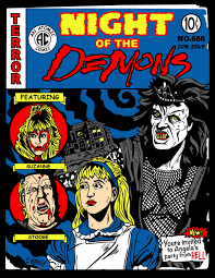 Wnuf Halloween Special by The Horrors Of Halloween Night Of The Demons 1988 Artwork Posters