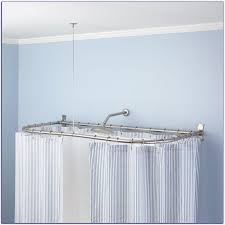Extra Long Curtain Rods 120 170 by Furniture Awesome Ceiling Mounted Bay Window Curtain Rod Long