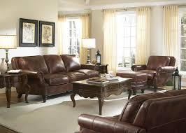 Rustic Savauge Leather Bentley Collection Split Sofa