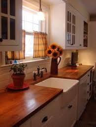 1920 Colonial Kitchen Love The Warm Wood Counter Tops