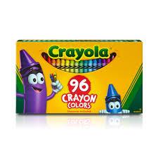 Crayola Bathtub Crayons Refill by Crayola Boxed Crayons 96 Count