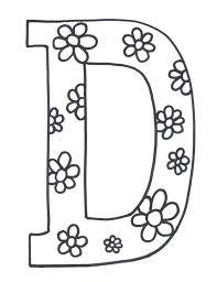 Letter D Free Printables Printable Alphabet Coloring