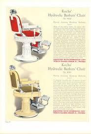 Paidar Barber Chair Hydraulic Fluid by A Theo A Koch Enamel And Chromed Cast Iron Barber Chair Barber