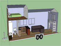 100 Tiny Home Plans Trailer Houses On S House Free
