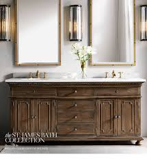 Bathroom Vanities Closeouts St Louis by Restoration Hardware The St James Collection Hand Carved