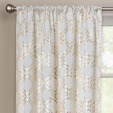 Nicole Miller Home Two Curtain Panels by Gold Curtain Panels Home Design Ideas And Pictures