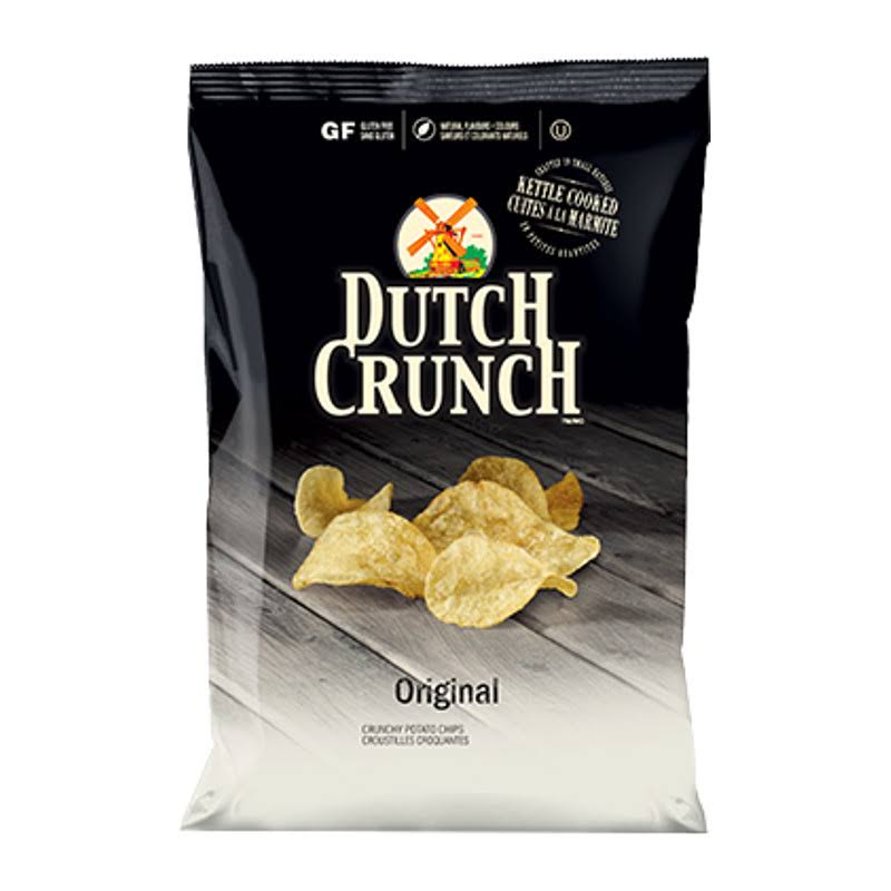 Old Dutch Crunch Original Chips 4 Bags Canadian