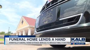 Local funeral home extending services to grieving family free of
