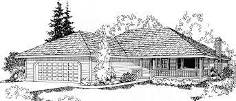3 Bedroom Ranch Floor Plans Colors One Level House Plan 3 Bedrooms 2 Car Garage 44 Ft Wide X 50 Ft D