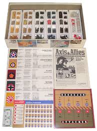 Axis And Allies Strategy Board Game World War 2 By MB Games