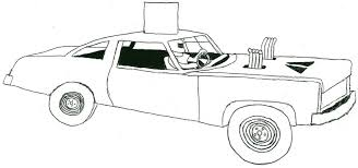 Coloring Pages Of Derby Cars Demolition Car Clipart Clipartsgram
