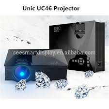 In Stocks Unic Uc46 Mini Projector For Iphone 6 Wireless Android