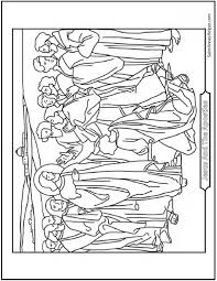 12 Apostles Of Jesus Christ Coloring Page Peter And The Keys Kingdom