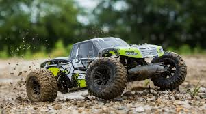 ECX 1/10 AMP MT 2WD Monster Truck Brushed RTR, Black/Green | Horizon ...