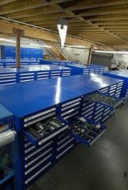 Used Vidmar Cabinets California by Lista Workbench