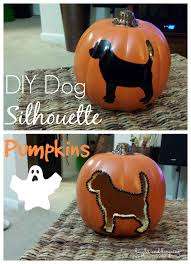 Fake Carvable Foam Pumpkins by Diy Dog Silhouette Carvable Pumpkins
