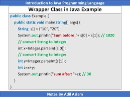 Math Ceil Java Int by Introduction To Java Programming Lecture No 8