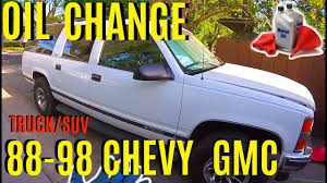 How To Change Oil Chevy GMC Truck Or SUV -Jonny DIY - YouTube 01995 Toyota 4runner Oil Change 30l V6 1990 1991 1992 Townace Sr40 Oil Filter Air Filter And Plug Change How To Reset The Life On A Chevy Gmc Truck Youtube Car Or Truck Engine All Steps For Beginners Do You Really Need Your Every 3000 Miles News To Pssure Sensor Truckcar Forum Chevrolet Silverado 2007present With No Mess Often Gear Should Be Changed 2001 Ford Explorer Sport 4 0l Do An 2016 Colorado Fuel Nissan Navara D22 Zd30 Turbo Diesel