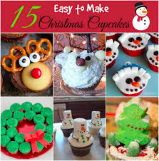 15 easy christmas cupcake decorating ideas easy decoration and