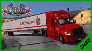 100 Cr England Truck American Simulator Fleet Drive CR