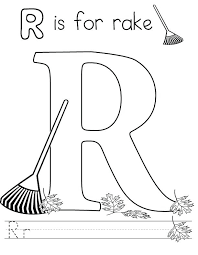 Full Image For Free Letter R Coloring Pages To Print Kids Download And Color
