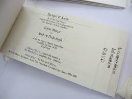 Cheque Book Wedding Invitations