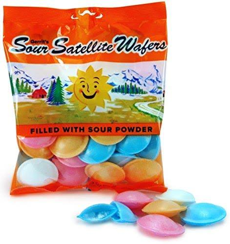 Sour Satellite Wafers - Each