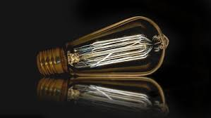 did edison invent the light bulb reference