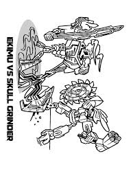 Lego Bionicle Coloring Pages For Boys 10