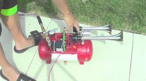 LOUD PORTABLE AIR HORN - YouTube Dual Super Loud Blast Tone 12v Electric Grille Mount Compact Horns Red 24v 128db Air Horn Truck Car Trumpet Train 24 Volt Stebel Nautilus 139db Bla Auto Accsories Headlight Bulbs Gifts Single Amazoncom 140db Viair Universal Motorcycle 135db Complete Set 1pcs For 110db Antique Vintage Old Freightliner Classic Xl With Loud Train Horn Mavi Trucking Armed Horns And Their Voices Striking Verizon Workers Tech 12v Truck Air Youtube