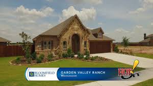 Bloomfield Homes at Garden Valley Ranch in Waxahachie TX