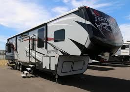 Raptor 5th Wheel Toy Hauler Floor Plans by Keystone Raptor Rvs For Sale Camping World Rv Sales