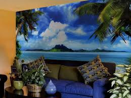 Wall Mural Decals Beach by Excellent Tropical Wall Murals Cheap Wallpaper Scenery For Walls