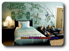 Ninja Turtle Bedroom Ideas by Made My Son His Own Ninja Turtle Room Decor Bed Sheet Old