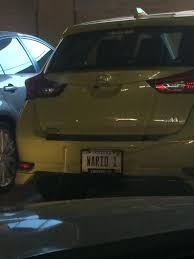 This guy wins the award for best vanity plate Funny