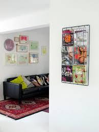100 Huizen Furniture Frame6 Magazine Holder Black Capventure