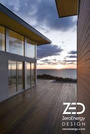 100 Zeroenergy Design Ocean View Deck At Sustainable Beach House On Cape Cod By Green
