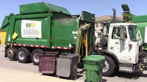 Waste Management Garbage Trucks Of Menifee, CA - YouTube