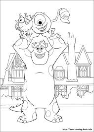 Monsters University Coloring Page