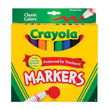 Crayola Classic Markers 10 Pack