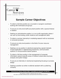 Echnical Skills To Put On Resume Inspirational Sample Career Objective Customer Service Example