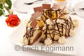 eis rezept zweifarbige schokoladeneis torte gugelhupf
