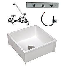 mustee mop sink kit 24 in l 24 in w 10 in h 11u264 63cm grainger