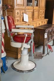 Emil J Paidar Barber Chair Headrest by Antique Emil J Paidar Barber Chair At 1stdibs