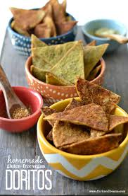 Wanting To Skip The Artificial Ingredients Make These Homemade Vegan Doritos 3 Different Flavors
