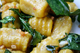Good Sauce For Pumpkin Gnocchi by Pumpkin Gnocchi With Kale Darth Vegan