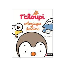 Livre Tchoupi Coloriages Et Dessins Pour Enfant De 2 Ans à 4 Ans
